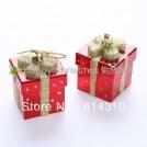 """Новогоднее подвесное украшение """"Подарок"""", 10шт"""