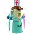 Автоматический диспенсер зубной пасты-держатель зубных щёток + крючок
