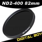 Нейтрально-серый фильтр 82 мм ND2-ND400 для Canon; Nikon 16-35