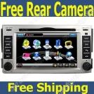 """HYL-50 - автомобильная магнитола, 6.2"""" TFT LCD, Touch Screen, GPS, Bluetooth, MP3/MP4, FM, TV для Hyundai Santa Fe (2008-2011)"""
