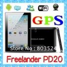 "FreeLander PD20 - планшетный компьютер, Android 4.0.3, TFT LCD 7"", 1.2GHz, 1GB RAM, 8GB ROM, Wi-Fi, GPS, HDMI, 2 камеры 0.3MP/2.0MP"