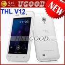 "ThL V12+ - смартфон, Android 4.0.4, MTK6577 (1.2GHz), 4"" IPS, 512MB RAM, 4GB ROM, 3G, Wi-Fi, Bluetooth, GPS, 5MP задняя камера, 2MP фронтальная камера"