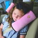 Чехол-подушка для плечевого ремня безопасности, Красный / Розовый / Синий / Желтый / Серый / Бежевый