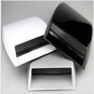 Декоративные накладки-воздухозаборники на капот автомобиля, алюминий