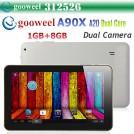 """Gooweel A90X  - планшетный компьютер, Android 4.2, Allwinner A20 Dual Core Cortex A7 1.0GHz, 9.0"""", 1GB RAM, 8GB ROM, Wi-Fi, HDMI, OTG, основная камера 0.3МП и фронтальная камера 0.3МП"""