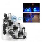 Светодиодная подсветка для автомобильного салона, 4шт, 12V