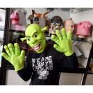 """Карнавальная маска и перчатки """"Шрек"""""""