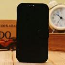 Чехол из искусственной замши для Samsung Galaxy S4 с отделением для пластиковой карты и подставкой