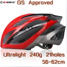 Велосипедный шлем сверх легкий, 21 отверстие