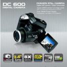 "WANSUN-DC600 - цифровая камера, 2.4"" LTPS TFT-дисплей, 8x зум"