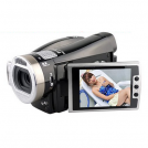 "HDV8000 - цифровая камера, 16MP, HD720P, HDMI TV-выход, 2.5"" LTPS LCD, 8x цифровой зум"