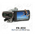 """FX-H10 - цифровая 3D-камера, 1080P, 16MP, 3.2"""" TFT LCD, 8x цифровой зум"""