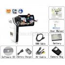 "FX1W - цифровая 3D-камера, HD 720P, 8MP, 3.2"" TFT LCD, 4x цифровой зум"