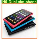 "N9 - мобильный телефон, 3.5"" сенсорный экран, FM, MP3, 2 SIM"