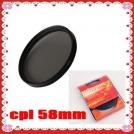 Циркулярно-поляризационный фильтр (C-PL PL-CIR CPL) Green-L 58mm
