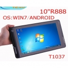 "ET-T1037 - планшетный компьютер, Windows 7/Android 2.2, 10.1"", 1.66 GHz, 2GB RAM, 32GB ROM, 3G, HDMI, GPS, Wi-Fi"