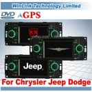DVD-плеер с GPS для Chrysler Jeep Dodge