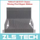 NISSAN QUEST - шлейф для восстановления перегоревших пикселей на приборной доске автомобилей NISSAN