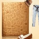 Кожаный чехол-книжка для Apple