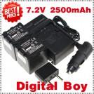 VW-VBN260 - 2 аккумуляторных батареи + зарядное устройство + автомобильное зарядное устройство для Panasonic HDC-Tm900 HDC-SD900