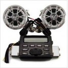 Аудиосистема для мотоциклов, FM-радио, MP3/CD