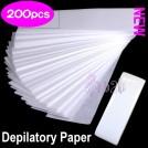 Набор восковых полосок для депиляции (200 шт.)