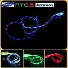 Светодиодный USB-кабель для Samsung galaxy и HTC