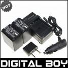NP-FV100 - аккумулятор + зарядное устройство + автомобильное зарядное устройство +штекер для Sony FV30 NPFV100 FV40