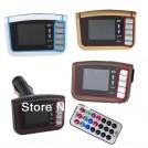 """Автомобильный FM-трансмиттер - 1.44"""" LCD дисплей, MP3-плеер, пульт ДУ"""
