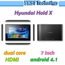 "Hyundai Hold X - планшетный компьютер, Android 4.1.1, 7"" IPS, Rockchip RK3066 (1.6GHz), 1GB RAM, 16GB ROM, Wi-Fi, HDMI, Bluetooth, 2MP фронтальная камера"