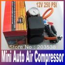 Портативный электрический автомобильный компрессор, 12 В, 250 PSI