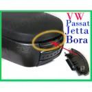 Защелкивающаяся крышка панели подлокотника, VW PASSAT B5, Jetta, Bora, черный цвет
