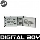 LI-40B - 3 аккумулятора Li-ion для OLYMPUS FE-290 FE-350 Wide FE-5020 FE-160 FE-330 850SW Stylus 820 5
