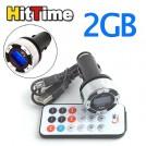 Автомобильный FM трансмиттер - 2GB, MP3, USB