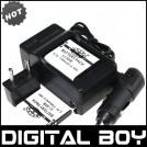 LI-50B - 2 аккумулятора + зарядное устройство + автомобильное зарядное устройство для Olympus stylus1000