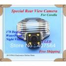 Автомобильная камера заднего вида для Toyota corolla, CMOS, 4 светодиода