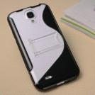 Чехлы для Samsung Galaxy S4 комбинированные: термополиуретан + пластик, 7 цветов, 2 шт