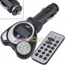 Автомобильный FM трансмиттер - Bluetooth, МР3, SD/MMC/TF, ПДУ
