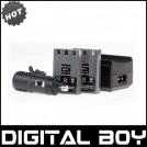 NB-1L - 2 аккумулятора + зарядное устройство + зарядка для авто, для Canon IXUS S400 S410 V2 V3