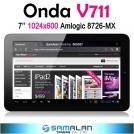 """Onda V711 - планшетный компьютер, Android 4.0.3, IPS 7"""", 1.5GHz, 1GB RAM, 8GB ROM, HDMI, Wi-Fi, 2MP фронтальная камера"""