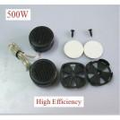 Колонки-твитеры автомобильные - 500W, высокое качество звучания, 2.8V, 97db