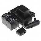 BP-819 - батарея, зарядное устройство, автомобильное зарядное устройство для камер Canon VIXIA HF S11
