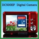 """DC500FE - цифровая камера, 2.7"""" диспоей, CMOS-матрица (5MP),  8х цифровой зум + карта памяти SD 16 Гб"""