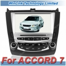 "WL-A6019 - автомобильная магнитола, 8"" TFT LCD, Touch Screen, GPS, FM-трансмиттер, Bluetooth, TV-тюнер для Honda Accord (2003-2007)"