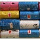 Биоразлагаемые пакеты для сбора собачьих экскрементов.