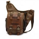 Винтажная мужская сумка через плечо в стиле кэжуал