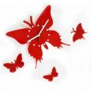 Настенные часы бабочка (E110)