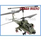 """SYMA S023G - радиоуправляемый вертолет """"Апач"""" с гироскопом, 46 см"""