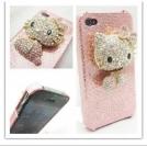 Розовый чехол для iPhone 4/4S Hello Kitty
