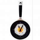 Настенные часы яичница на сковородке